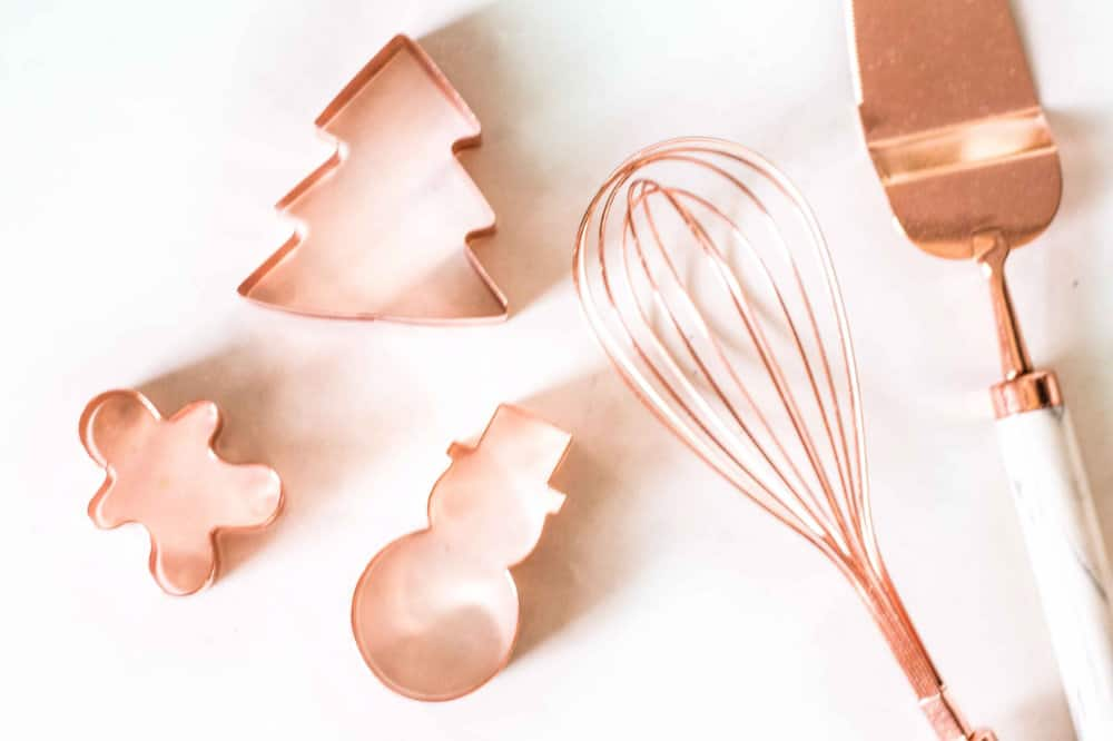 christmas copper cookie cutters