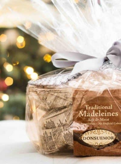 gift wrapped donsuemor madeleines