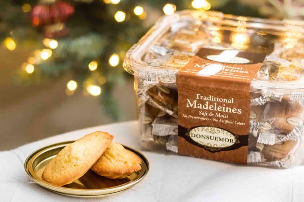 Donsuemor madeleines for Santa
