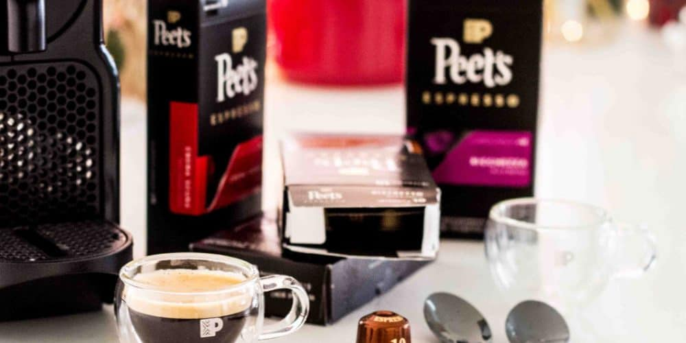Peet's Espresso Capsules for the Holidays