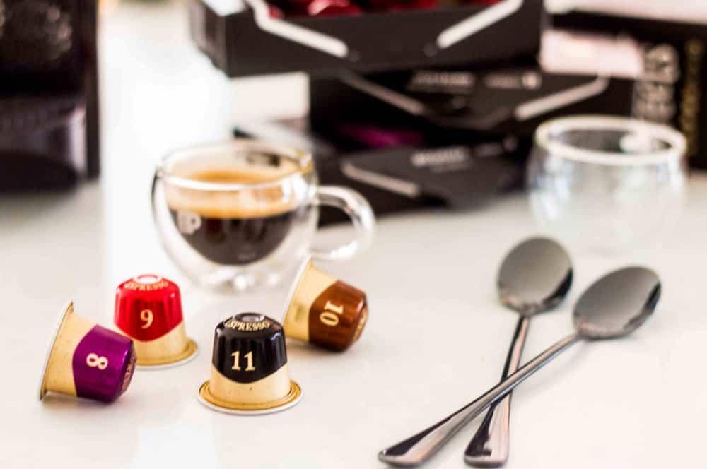Peet's Espresso Capsules 4 flavors