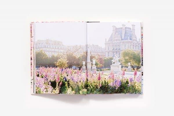 Inside cover of Paris in Bloom