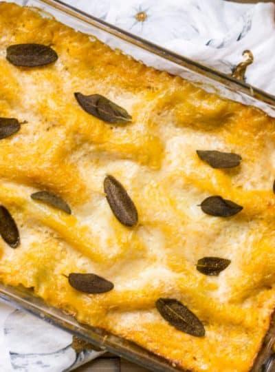 Pumpkin Lasagna Recipe from Mon Petit Four