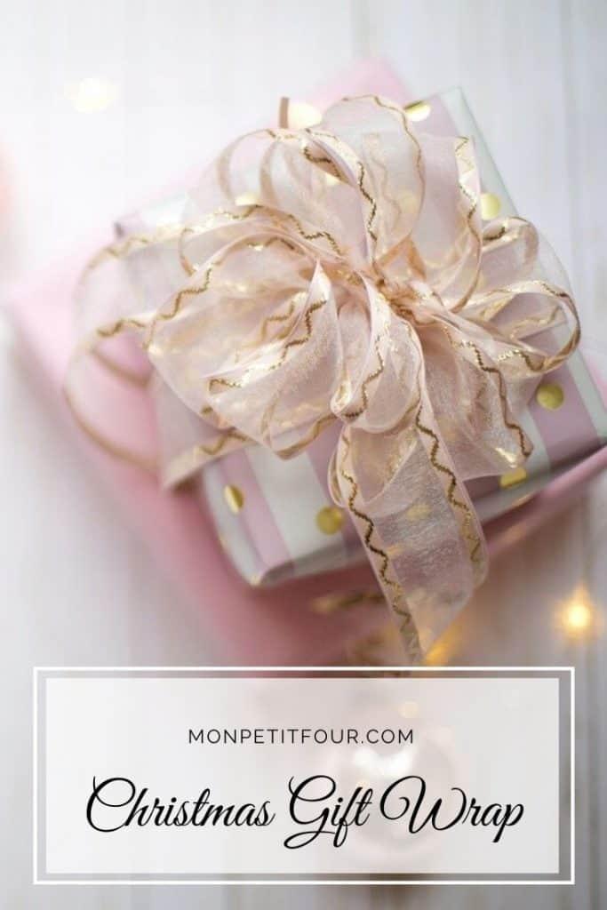 Elegant and Timeless Christmas Gift Wrap Picks from MonPetitFour.com