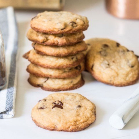 Best Chewy Chocolate Chip Cookies Recipe via MonPetitFour.com