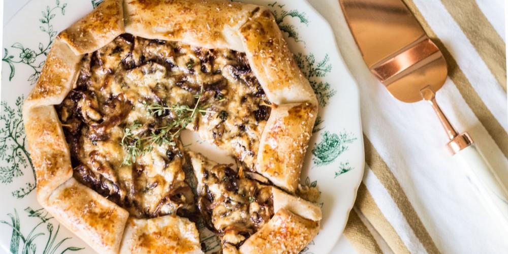 Mushroom Galette Recipe