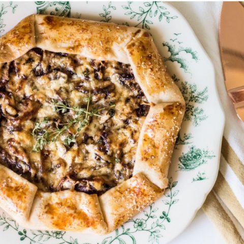 mushroom galette recipe image